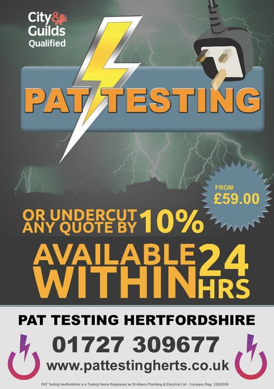 PAT Testing near Kings Langley, herts